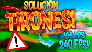 COMO SOLUCIONAR LOS TIRONES EN FORTNITE!! CAPAR FPS MANUALMENTE