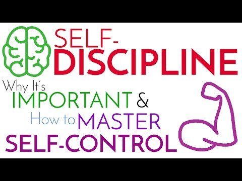 Self-Discipline | Why It's Important & How to Master Self-Control