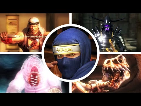 Ninja Gaiden Black Hard Mode Playthrough Part 49 Final Boss Fight