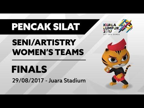 KL2017 29th SEA Games | Pencak Silat - (Seni/Artistry) - Women's Teams FINALS | 29/08/2017