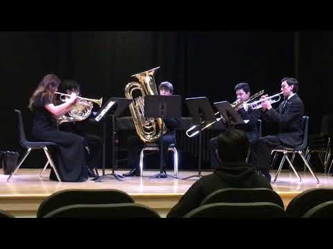EHS Brass Ensemble - 2018 CMEA Regional