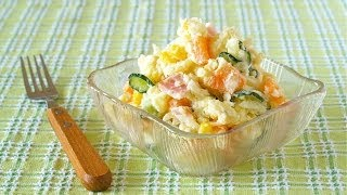 The Best Japanese Potato Salad  Recipe  | Ochikeron | Create Eat Happy :