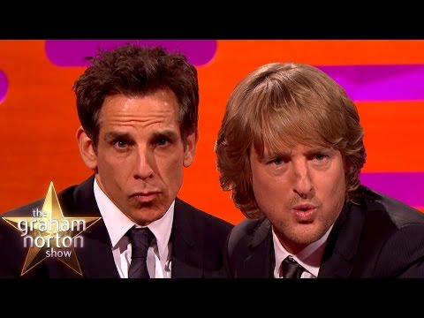 Ben Stiller's Blue Steel vs Owen Wilson's Blue Steel - The Graham Norton Show