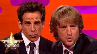 connectYoutube - Ben Stiller's Blue Steel vs Owen Wilson's Blue Steel - The Graham Norton Show