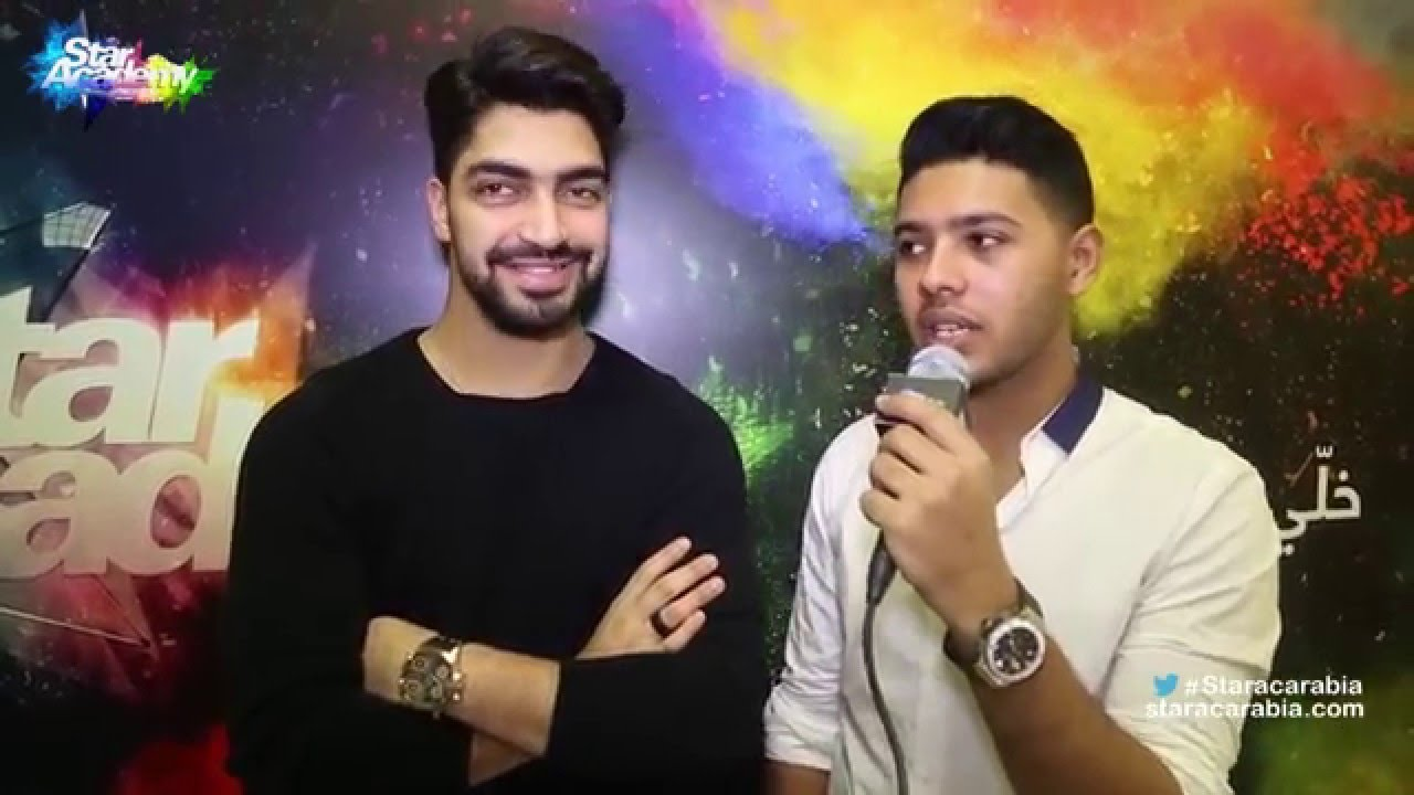 محمد شاهين و مينا عطا في كواليس البرايم 10 من ستار اكاديمي 11 - 17/12/2015 - YouTube