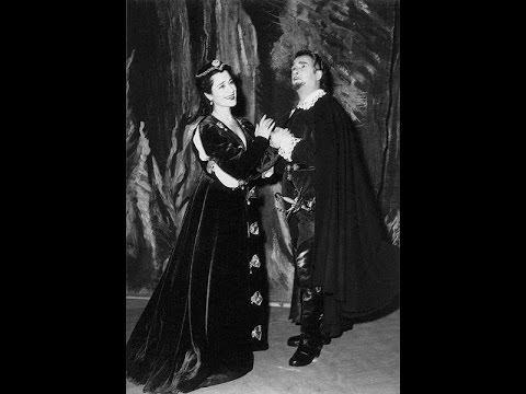 Lucia di Lammermoor - Gaetano Donizetti - 1957 GENCER,PRANDELLI,CARTA,MASSARIA,HUSSU,DE FABRITIIS