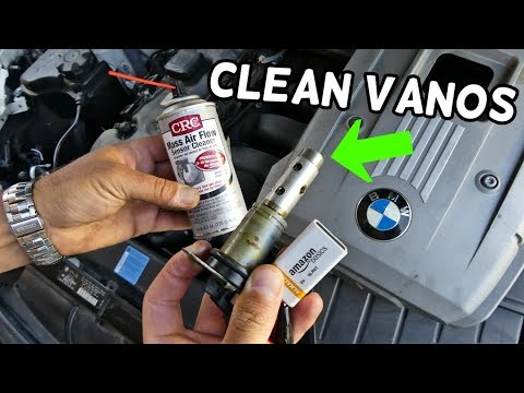 HOW TO CLEAN VANOS SOLENOID ON BMW E90 E91 E92 E93
