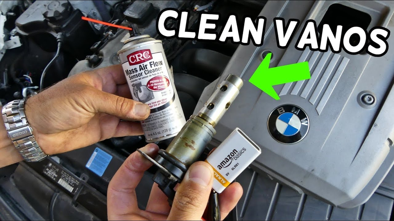 HOW TO CLEAN VANOS SOLENOID ON BMW E90 E91 E92 E93