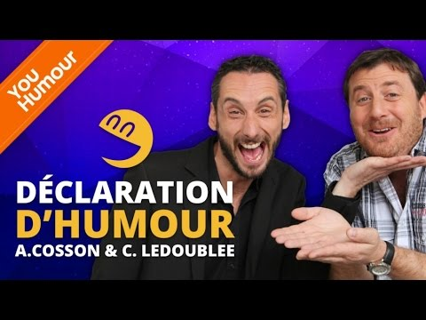 ARNAUD COSSON & CYRIL LEDOUBLEE - Déclaration d'Humour