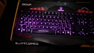 Keyboard Gaming Rexus BATTLEFIRE K7M Murah