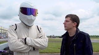 Jesse Eisenberg Meets Stig - Top Gear - BBC