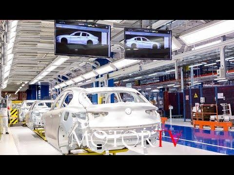 Car Factory Alfa Romeo Stelvio Giulia Production L Cassino Plant
