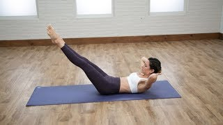 5 Pilates Moves For a Flat Belly