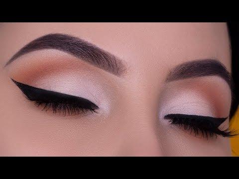 Bridal Eye Makeup | Soft Cut Crease and Black Winged Liner thumbnail