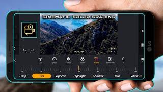 Cinematic  Video Color Grading In Film maker Pro App screenshot 5
