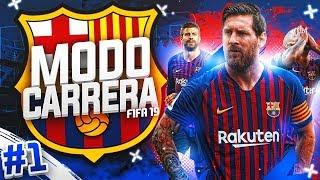 ¡EMPIEZA EL SHOW! #01 | MODO CARRERA - FC BARCELONA | FIFA 19