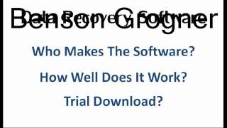 Best Data Recovery Software Reviews-Is it Scam or Legit