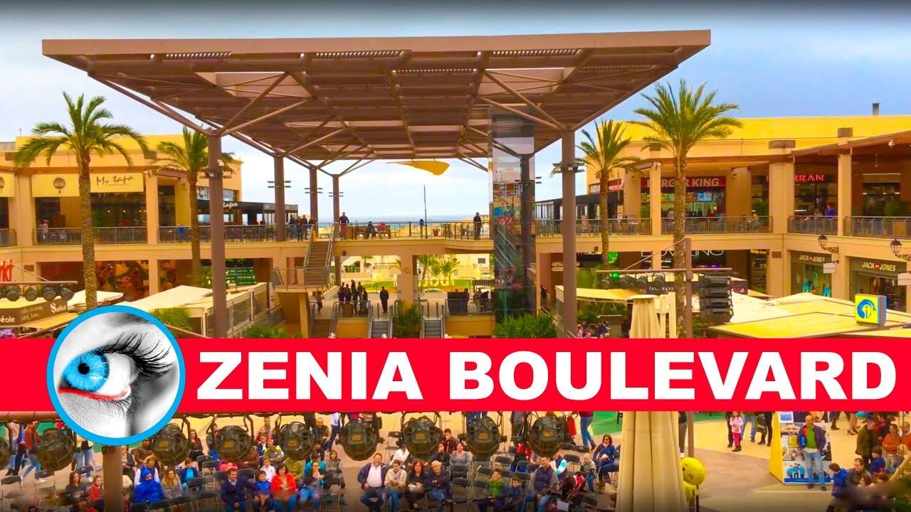 partido Republicano varonil pensión  LA ZENIA BOULEVARD - SHORT TOUR - 4K - TORREVIEJA - SPAIN - YouTube