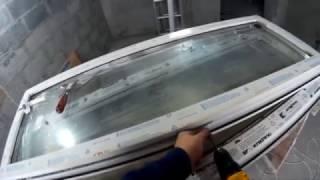 Ремонт вікна +5 етап заміна фурнітури установка фурнітури ROTO на стулку