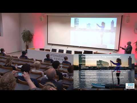 Clinical Entrepreneur Program Finland Kari Kataja - TEKES, Miikka Korja – HUS