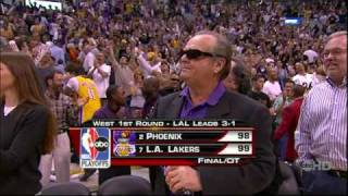 Kobe Game-Tying + Game Winning Shot vs Suns 06 Play-Offs HD