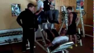 Sascha Fuge - 660 kg Beinpresse - Fitnessstudio Sportpark Göttingen / Geismar