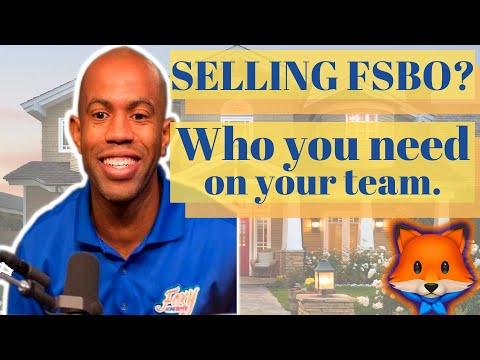 Teammates You'll Need to Sell Your Home For Sale By Owner