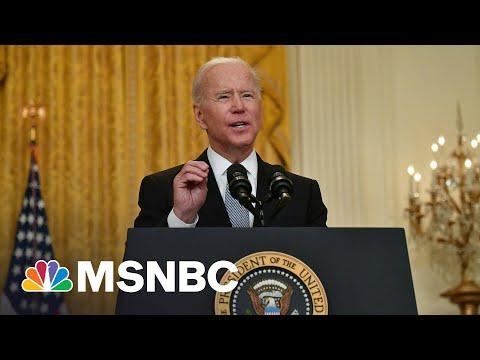 Biden Announces Plan To Export Covid Doses