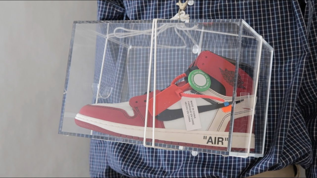 acc54c5fde71 Wearing the Off-White Air Jordan 1 - YouTube