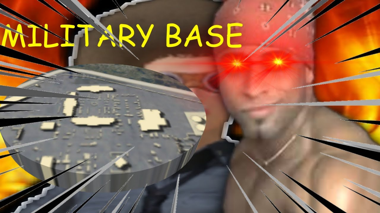 MILITARY BASE.EXE In Pubg Mobile