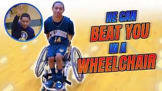 He Can Beat You In A WHEELCHAIR!