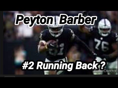 Las Vegas Raiders: Is RB Peyton Barber The Reason For Trey Ragas Release? By Joseph Armendariz