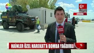 Hainler Özel Harekat'a bomba yağdırdı