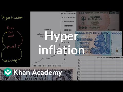 Hyperinflation in a good economy | Inflation | Finance & Capital Markets | Khan Academy
