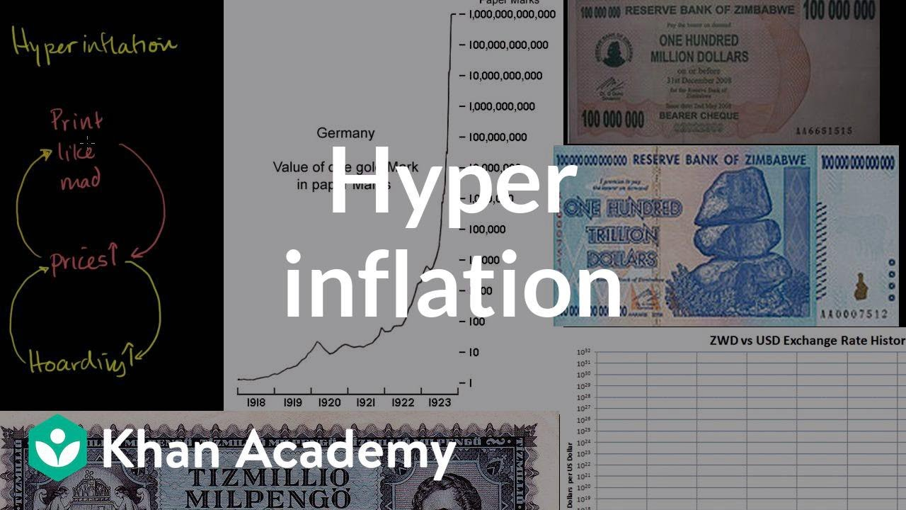 Hyperinflation (video) | Financial sector | Khan Academy