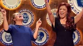 Natalia en Nathalie gaan helemaal los op Céline Dion | Zijn er nog Kroketten? | VTM