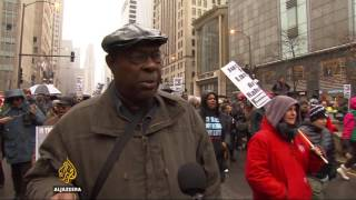 Protests in Chicago over shooting of black teenager