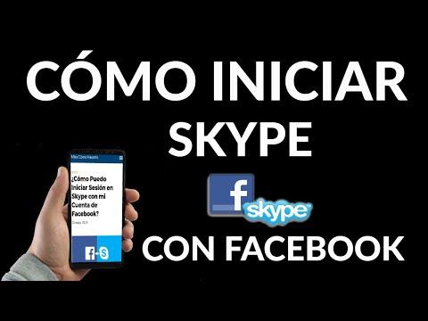 Cómo Iniciar Sesión en Skype con Cuenta de Facebook