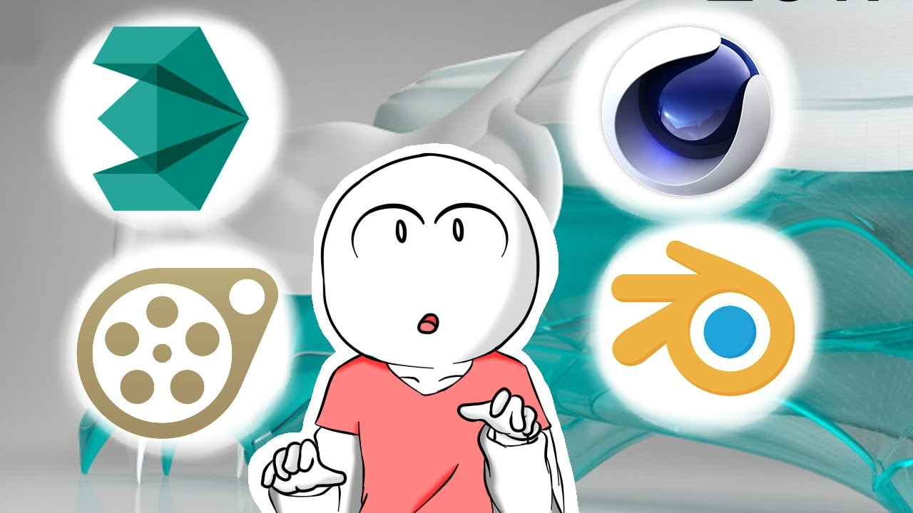 Melhores programas de anima o 3d youtube for Programas para oficina