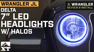 Shop these Delta 7 in. LED Headlights: https://terrain.jp/2O3onzf Subscribe for Daily Jeep Videos: http://terrain.jp/SubscribeXTyt If your Jeep Wrangler's factory ...