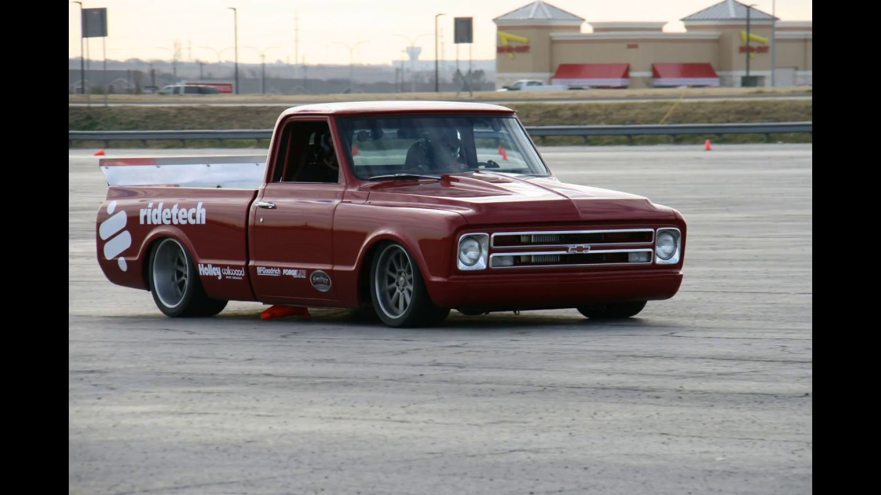 Having Fun Riding In A Pro Touring Chevy C10 From No Limit