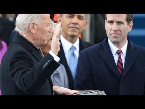Vice President Biden Sworn In - Barack Obama's Second Inauguration