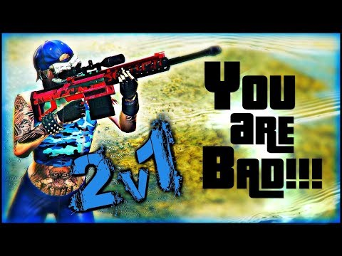 GTA 5 Online - 2v1 || HeavySniper VS MarksmanRifle ||