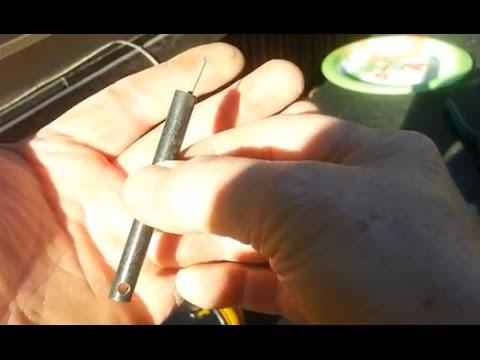 Ferro Rod Modification... Adding a Spear Tip, I Call It The Sperro Rod