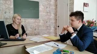 Фрагмент урока английского языка в студии ЕВРОПА.