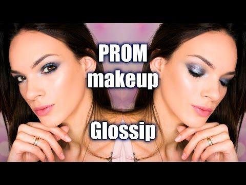 Makeup tutorial | Maturska sminka - Metallic smokey eye (Glossip Milano)