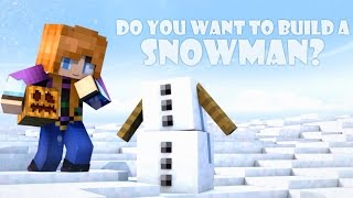 One of Blue Monkey's most viewed videos: Do You Want to Build a Snowman? (Minecraft Animation)