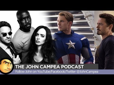Time To Crossover The Defenders And The Avengers? - The John Campea Podcast