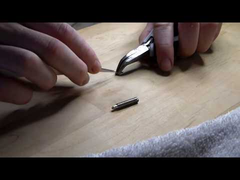 Atmos Clock Repair: How To Mount Suspension Wire