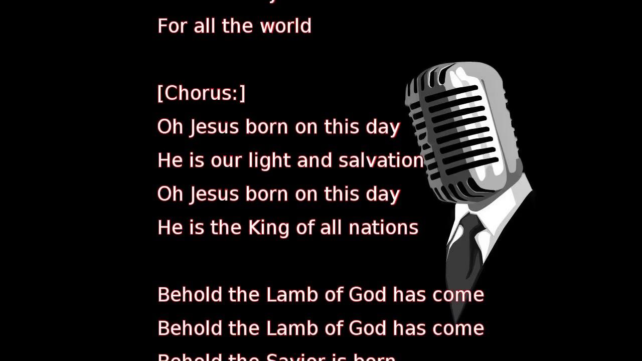 Mariah Carey - Jesus Born on This Day (lyrics) - YouTube